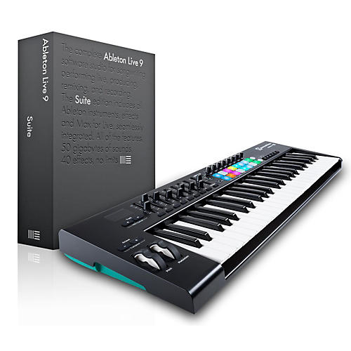 Novation Novation Launchkey 49 MIDI Controller with Ableton Live 9.5 Suite