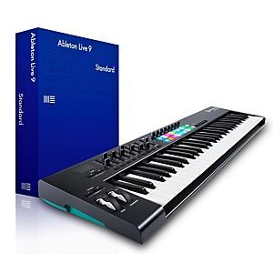 Novation Novation Launchkey 61 MIDI Controller with Ableton Live 9.5 Standa... by Novation