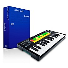 Novation Novation Launchkey Mini MKII with Ableton Live 9.5 Standard