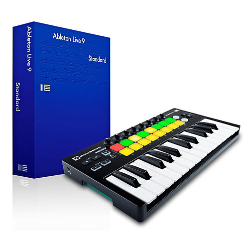 Novation Novation Launchkey Mini MKII with Ableton Live 9.5 Standard-thumbnail