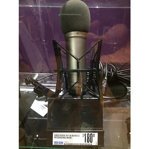 used rode microphones nt1a bundle recording microphone pack guitar center. Black Bedroom Furniture Sets. Home Design Ideas