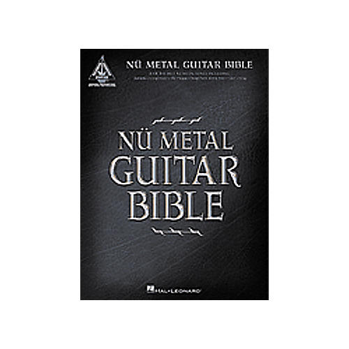 Hal Leonard Nu Metal Guitar Bible Tab Songbook