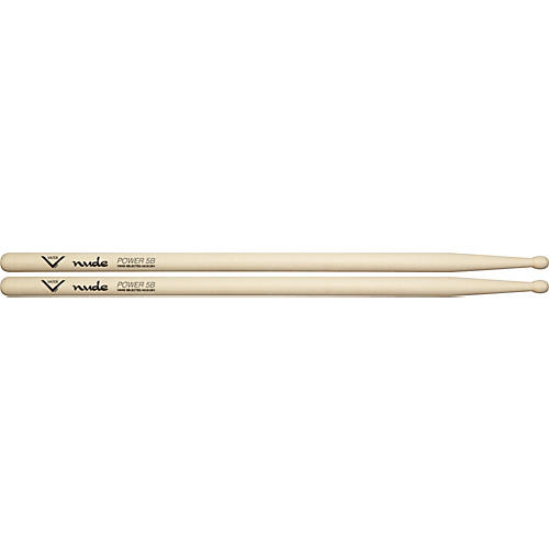 Vater Nude Series Fusion Drumsticks Power 5B Wood