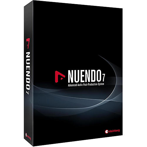 Steinberg Nuendo 7 Advanced Audio Post-Production System (Boxed Version)-thumbnail