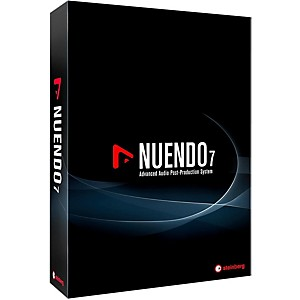 Steinberg Nuendo 7 Student EDU DAW Boxed Software by Steinberg