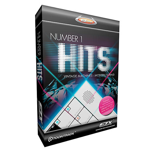 Toontrack Number One Hits EZX Software Download