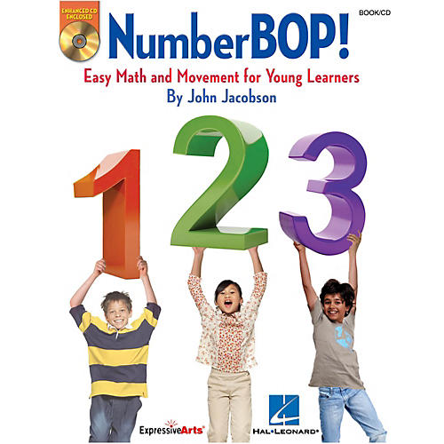 Hal Leonard NumberBOP - Easy Math and Movement Teacher Book/Enhanced CD-thumbnail