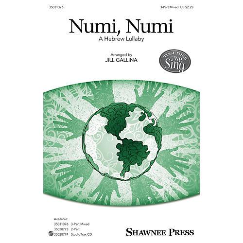 Shawnee Press Numi, Numi SAB arranged by Jill Gallina
