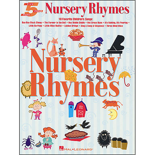 Hal Leonard Nursery Rhymes for Five Finger Piano-thumbnail