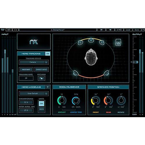 Waves Nx Virtual Mix Room Over Headphones-thumbnail