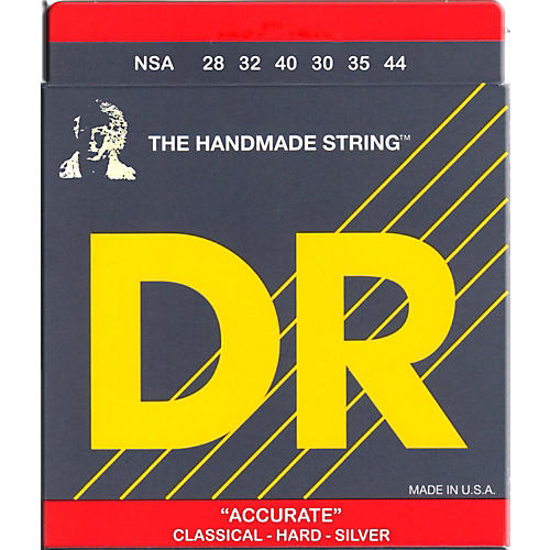 DR Strings Nylon Classic Accurate Hard Tension Acoustic Guitar Strings-thumbnail