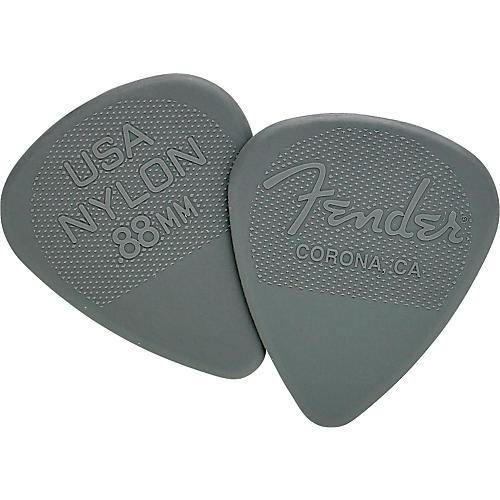 Fender Nylon Guitar Pick 12 Pack 0.88 12 Pack
