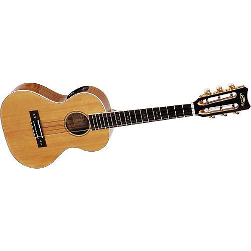 Lanikai O-6 Tenor 6-String Acoustic-Electric Ukulele