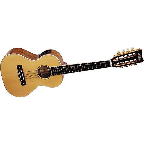 Lanikai O-8E 8-String Acoustic-Electric Tenor Ukulele