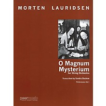 Peer Music O Magnum Mysterium Peermusic Classical Softcover Composed by Morten Lauridsen Arranged by Sandra Dackow
