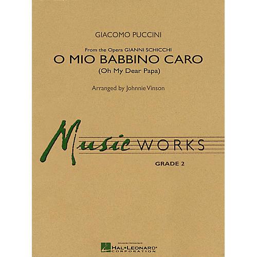 Hal Leonard O Mio Babbino Caro Concert Band Level 2 Composed by Giacomo Puccini Arranged by Johnnie Vinson