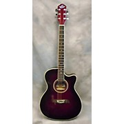 Oscar Schmidt OACEF Acoustic Electric Guitar