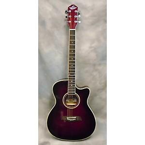 Pre-owned Oscar Schmidt OACEF Acoustic Electric Guitar by Oscar Schmidt