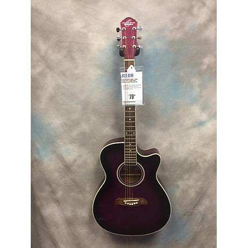 Oscar Schmidt OACEF/TPB Acoustic Electric Guitar