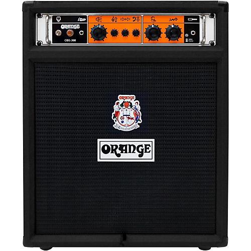 Orange Amplifiers OB1-300-Combo Bass Amplifier Black-thumbnail
