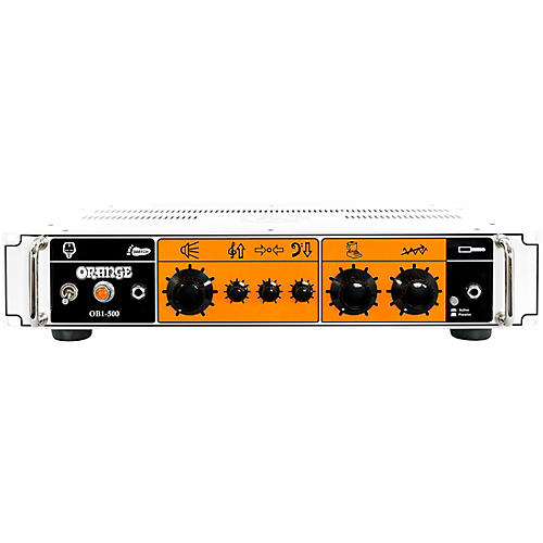 Orange Amplifiers OB1-500 500W Analog Bass Amp Head