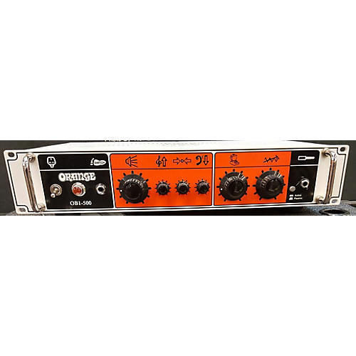 Orange Amplifiers OB1-500 Bass Amp Head-thumbnail