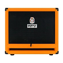 Orange Amplifiers OBC212 600W 2x12 Bass Speaker Cabinet Level 1 Orange