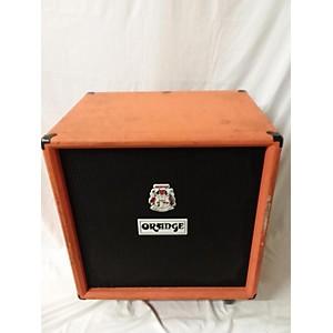Pre-owned Orange Amplifiers OBC410 600 Watt 4x10 Bass Cabinet by Orange Amplifiers