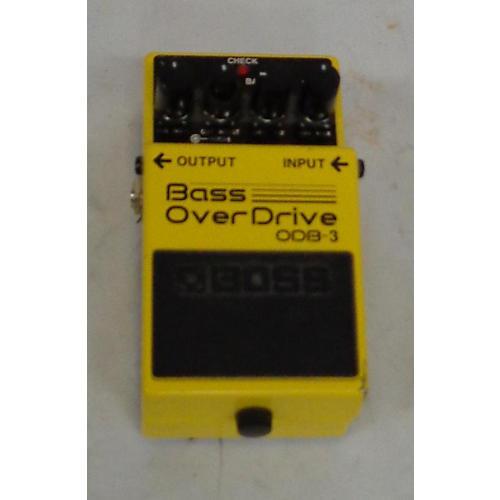Boss OBD3 Bass Effect Pedal