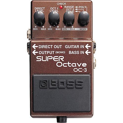 Boss OC-3 SUPER Octave Pedal-thumbnail