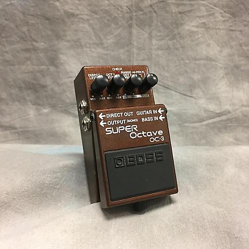 Boss OC3 Super Octave Effect Pedal-thumbnail