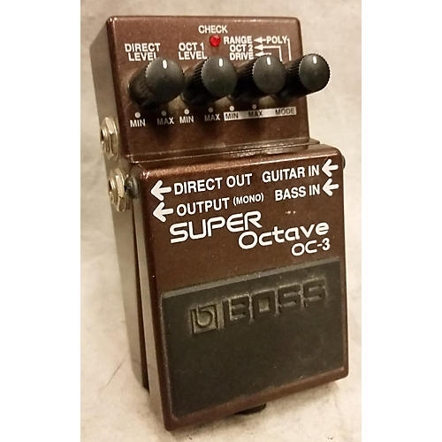 Boss OC3 Super Octave Effect Pedal-thumbnail