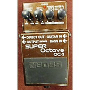 Boss OC3 Super Octave Effect Pedal