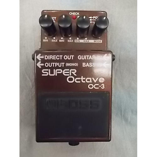 Boss OC-3 Super Octave Pedal Review - Fauxtown Records