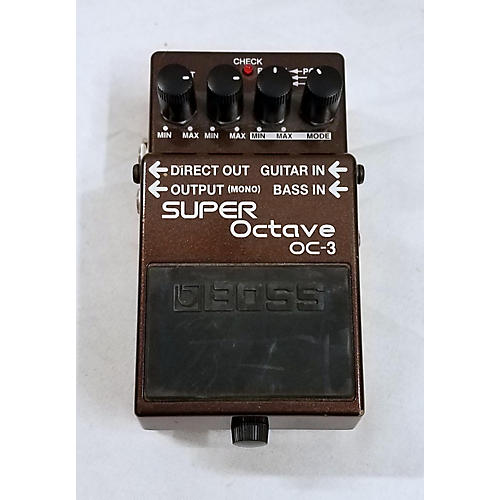 used boss oc3 super octave effect pedal guitar center. Black Bedroom Furniture Sets. Home Design Ideas
