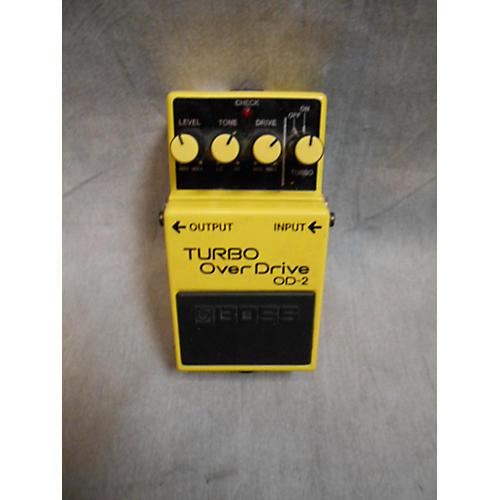 Boss OD-2 Turbo Overdrive Effect Pedal-thumbnail