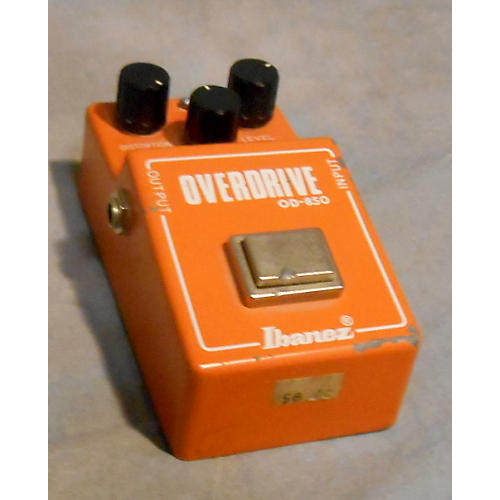 Ibanez OD-850 Overdrive Effect Pedal-thumbnail
