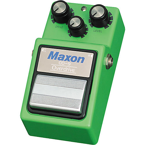 Maxon OD-9 Overdrive Effects Pedal-thumbnail