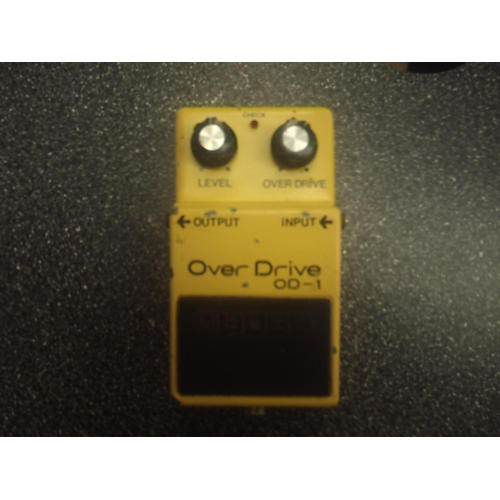 Boss OD1 Overdrive Effect Pedal