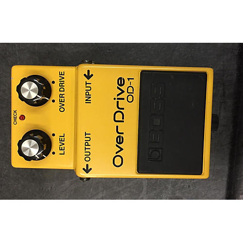 Boss OD1 Overdrive Yellow Effect Pedal