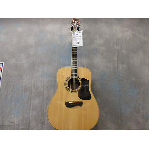 In Store Used OD10S Natural Acoustic Guitar