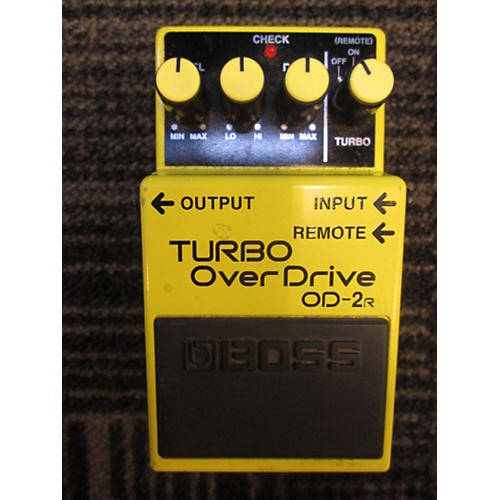 Boss OD2R Turbo Overdrive Effect Pedal