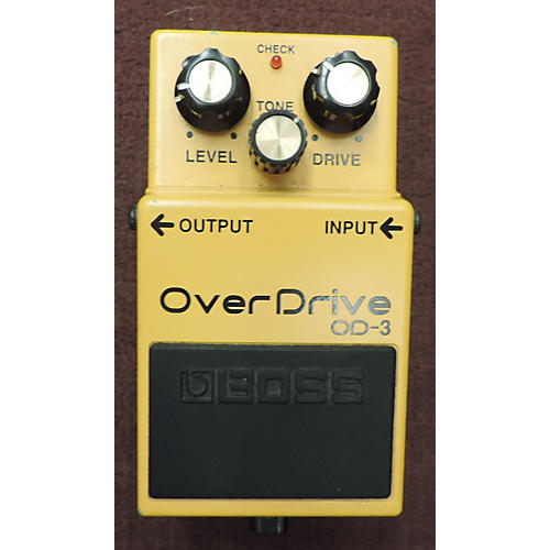 Boss OD3 Overdrive Effect Pedal-thumbnail