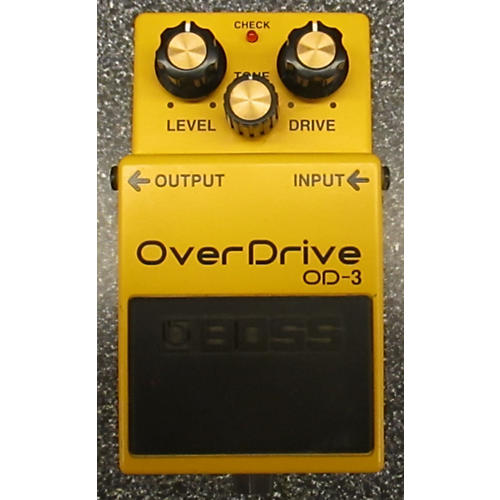 Boss OD3 Overdrive Effect Pedal-thumbnail