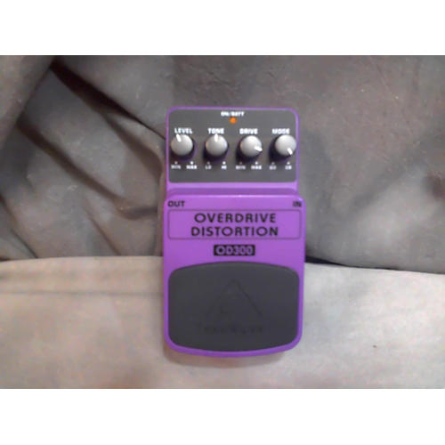 Behringer OD300 Overdrive/Distortion Effect Pedal-thumbnail