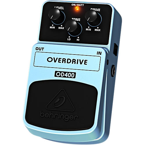 Behringer OD400 Overdrive Guitar Effects Pedal