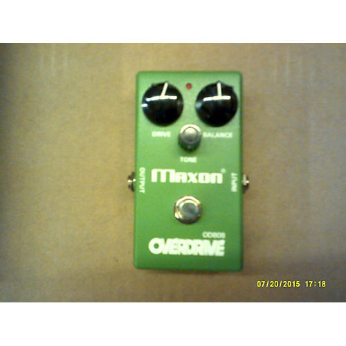 Maxon OD808 Overdrive Emerald Green