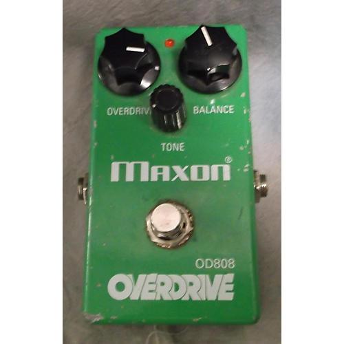 Maxon OD808 Overdrive Green Effect Pedal-thumbnail