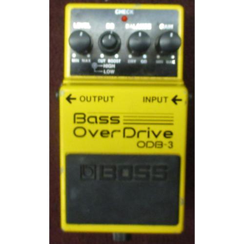 Boss ODB3 Bass Overdrive Bass Effect Pedal-thumbnail