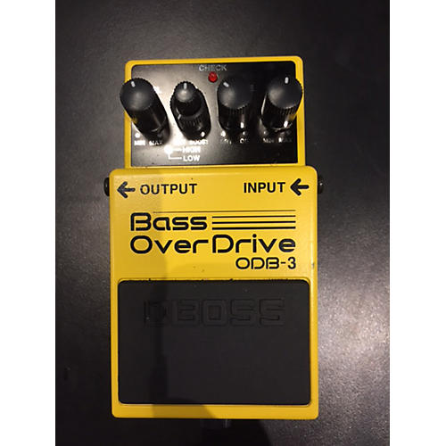 Boss ODB3 Bass Overdrive Bass Effect Pedal-thumbnail